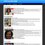 CUIP Online Expo Site