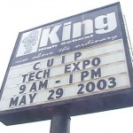 Expo Sign @ Chicago's King College Prep HS (2003)